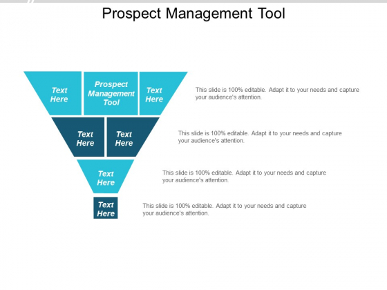 Prospect Management Tool Ppt PowerPoint Presentation Gallery File Formats Cpb