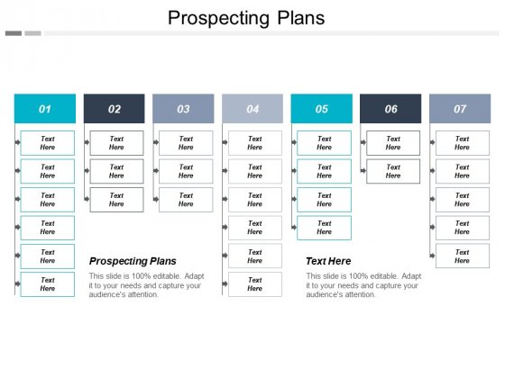 Prospecting Plans Ppt PowerPoint Presentation Infographics Slides Cpb