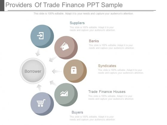 Providers Of Trade Finance Ppt Sample