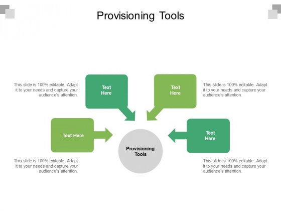 Provisioning Tools Ppt PowerPoint Presentation File Microsoft Cpb Pdf