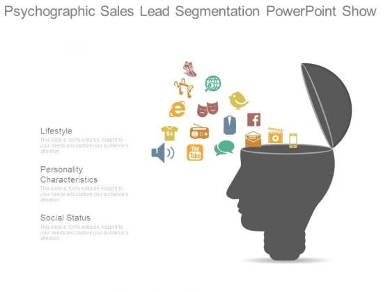 Psychographic Sales Lead Segmentation Powerpoint Show