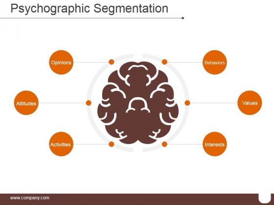 Psychographic Segmentation Ppt PowerPoint Presentation Background Designs