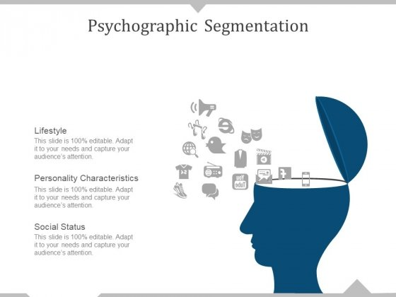 Psychographic Segmentation Ppt PowerPoint Presentation Visual Aids Backgrounds