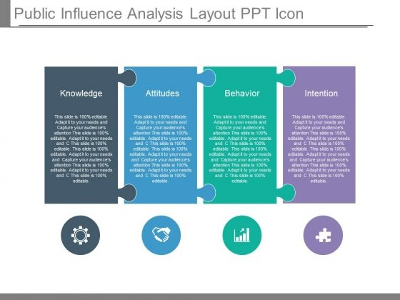 Public Influence Analysis Layout Ppt Icon