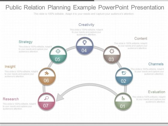 Public Relation Planning Example Powerpoint Presentation