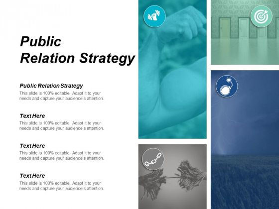 Public Relation Strategy Ppt PowerPoint Presentation Inspiration File Formats Cpb