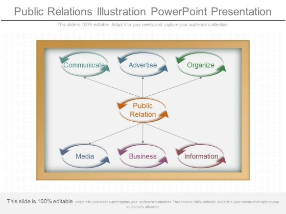 Public Relations Illustration Powerpoint Presentation