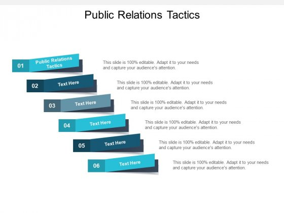 Public Relations Tactics Ppt PowerPoint Presentation File Graphics Cpb