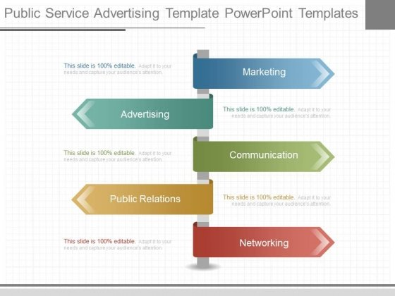 Public Service Advertising Template Powerpoint Templates