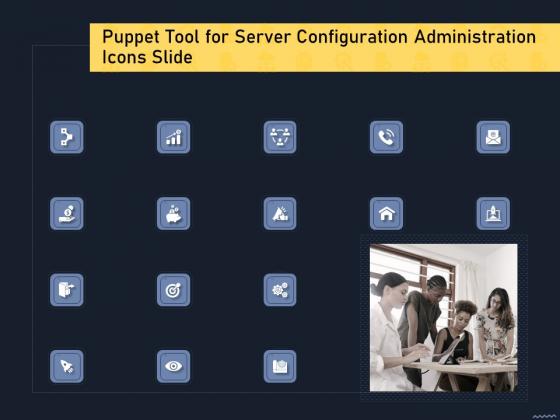 Puppet_Tool_For_Server_Configuration_Administration_Icons_Slide_Mockup_PDF_Slide_1