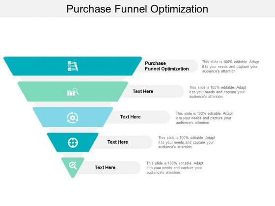 Purchase Funnel Optimization Ppt PowerPoint Presentation Slides Vector Cpb