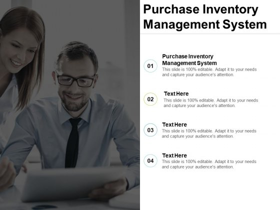Purchase Inventory Management System Ppt PowerPoint Presentation Show Skills Cpb