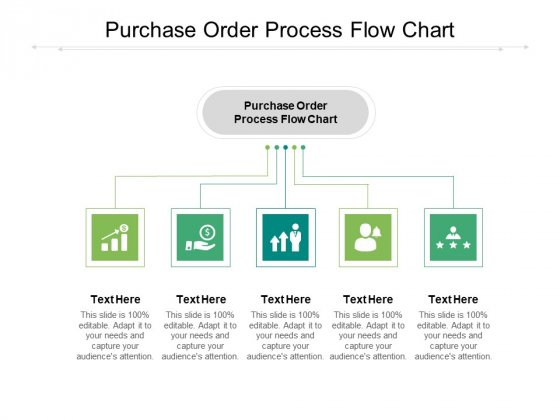 Purchase Order Process Flow Chart Ppt PowerPoint Presentation Gallery Icons Cpb Pdf
