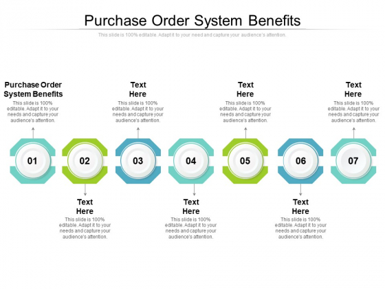 Purchase Order System Benefits Ppt PowerPoint Presentation Infographics Deck Cpb