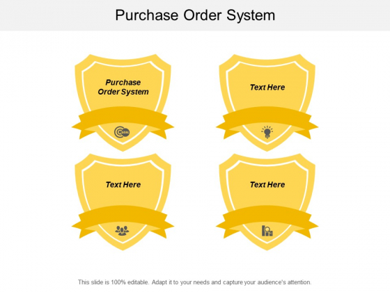 Purchase Order System Ppt PowerPoint Presentation Slides Template Cpb