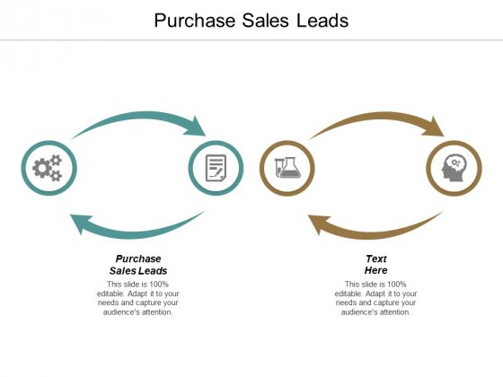 Purchase Sales Leads Ppt PowerPoint Presentation Infographics Smartart