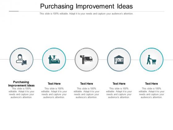 Purchasing Improvement Ideas Ppt PowerPoint Presentation Portfolio Outline Cpb Pdf