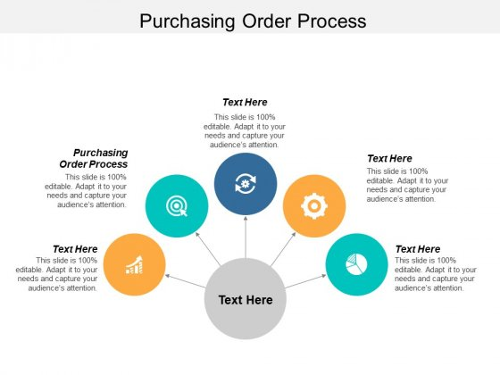 Purchasing Order Process Ppt PowerPoint Presentation Infographics Graphics Example Cpb