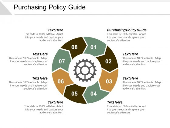 Purchasing Policy Guide Ppt Powerpoint Presentation Slides Guidelines Cpb