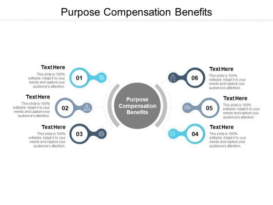 Purpose Compensation Benefits Ppt PowerPoint Presentation Slides Shapes Cpb Pdf