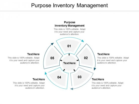 Purpose Inventory Management Ppt PowerPoint Presentation Outline Tips Cpb