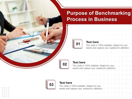 Purpose Of Benchmarking Process In Business Ppt PowerPoint Presentation Summary Background Designs PDF