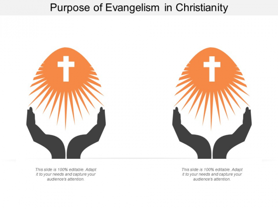 Purpose Of Evangelism In Christianity Ppt Powerpoint Presentation Styles Graphics Design