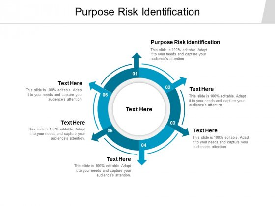 Purpose Risk Identification Ppt PowerPoint Presentation Infographics Visuals Cpb