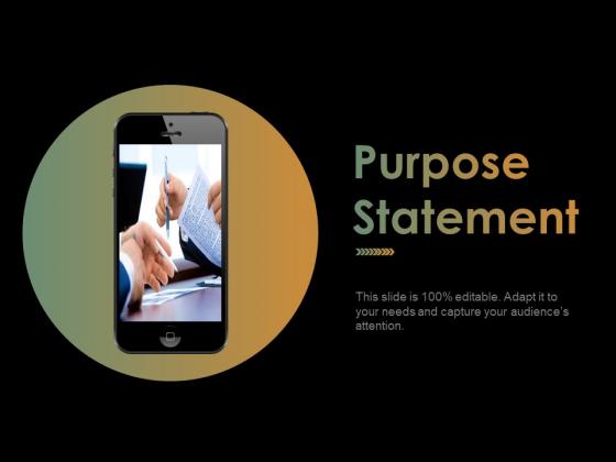 Purpose Statement Ppt PowerPoint Presentation Portfolio Graphics Pictures