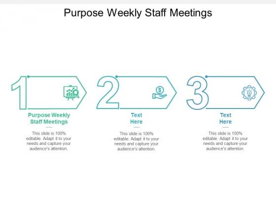 Purpose_Weekly_Staff_Meetings_Ppt_PowerPoint_Presentation_Pictures_Deck_Cpb_Slide_1