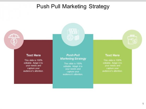 Push Pull Marketing Strategy Ppt PowerPoint Presentation Summary Professional Cpb