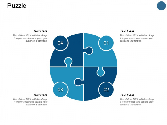 Puzzle And Process Ppt PowerPoint Presentation Show Diagrams