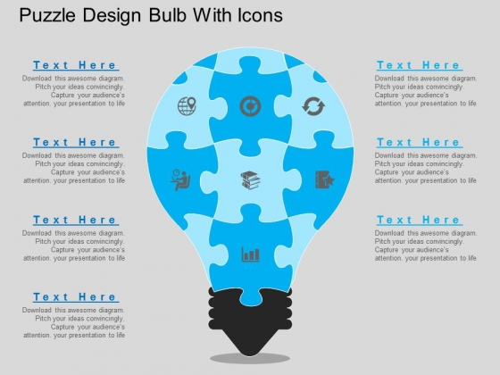 Puzzle_Design_Bulb_With_Icons_Powerpoint_Template_1