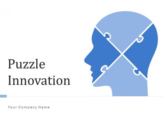 Puzzle Innovation Idea Proposition Ppt PowerPoint Presentation Complete Deck