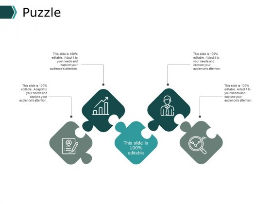 Puzzle Management Marketing Ppt PowerPoint Presentation Show