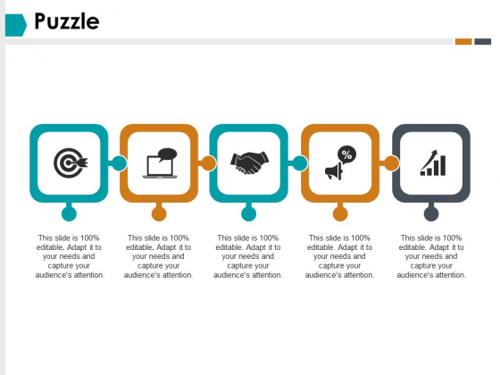 Puzzle Marketing Strategy Ppt PowerPoint Presentation Ideas Demonstration