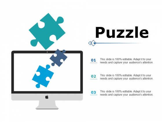 Puzzle Marketing Strategy Ppt PowerPoint Presentation Show Layouts