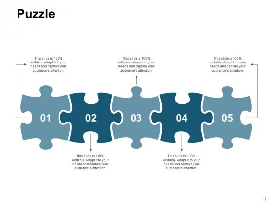 Puzzle Marketing Strategy Ppt PowerPoint Presentation Visual Aids Gallery