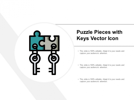 Puzzle Pieces With Keys Vector Icon Ppt PowerPoint Presentation Inspiration Styles