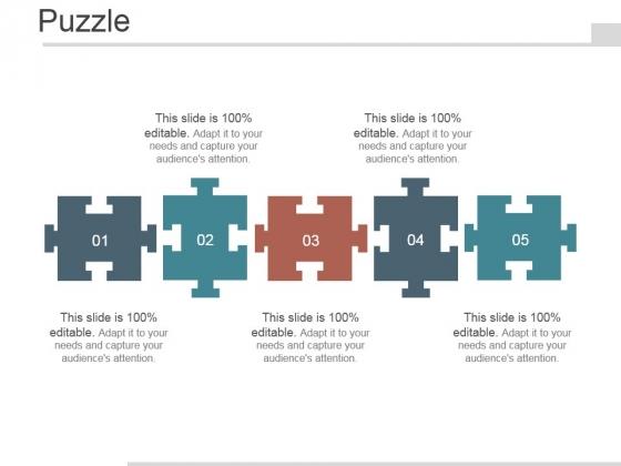 Puzzle Ppt PowerPoint Presentation Design Ideas