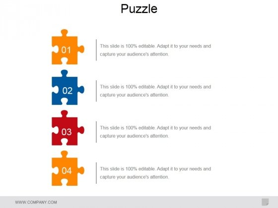 Puzzle Ppt PowerPoint Presentation Example File