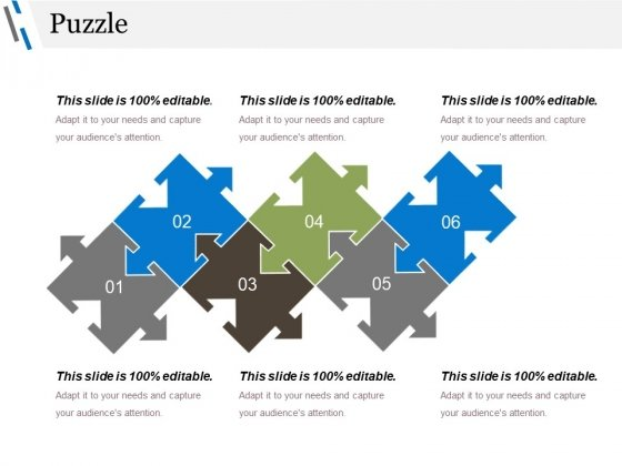 Puzzle Ppt PowerPoint Presentation File Grid