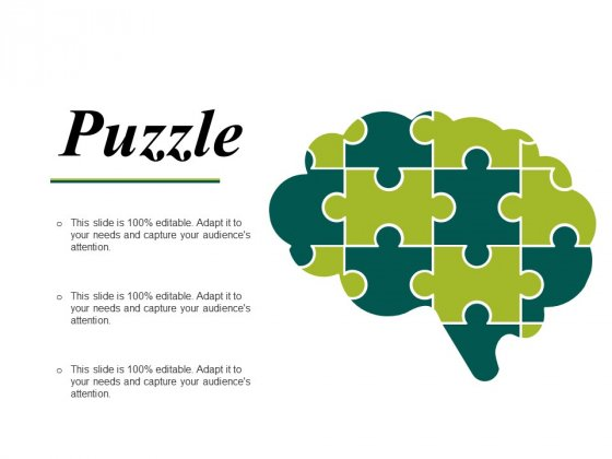Puzzle Ppt PowerPoint Presentation File Summary