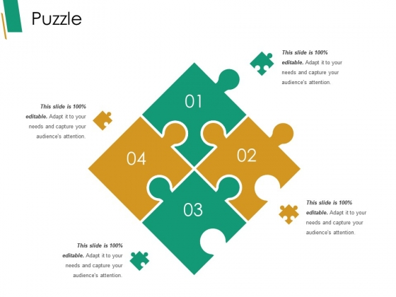Puzzle Ppt PowerPoint Presentation Gallery Deck