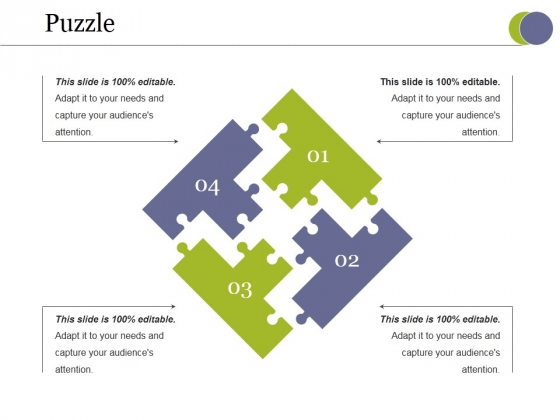 Puzzle Ppt PowerPoint Presentation Gallery Example