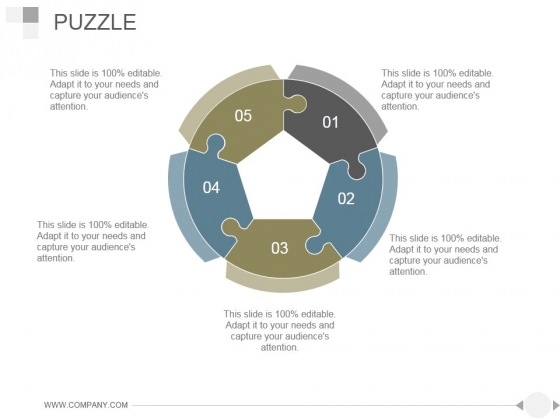 Puzzle Ppt PowerPoint Presentation Guide