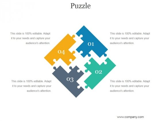Puzzle Ppt PowerPoint Presentation Icon