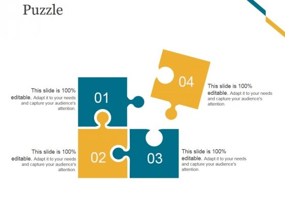 Puzzle Ppt PowerPoint Presentation Ideas Example File