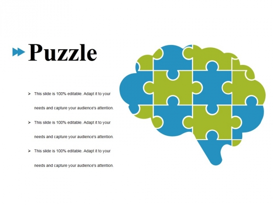 Puzzle Ppt PowerPoint Presentation Ideas Graphics Template