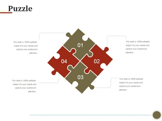 Puzzle Ppt PowerPoint Presentation Ideas Infographic Template